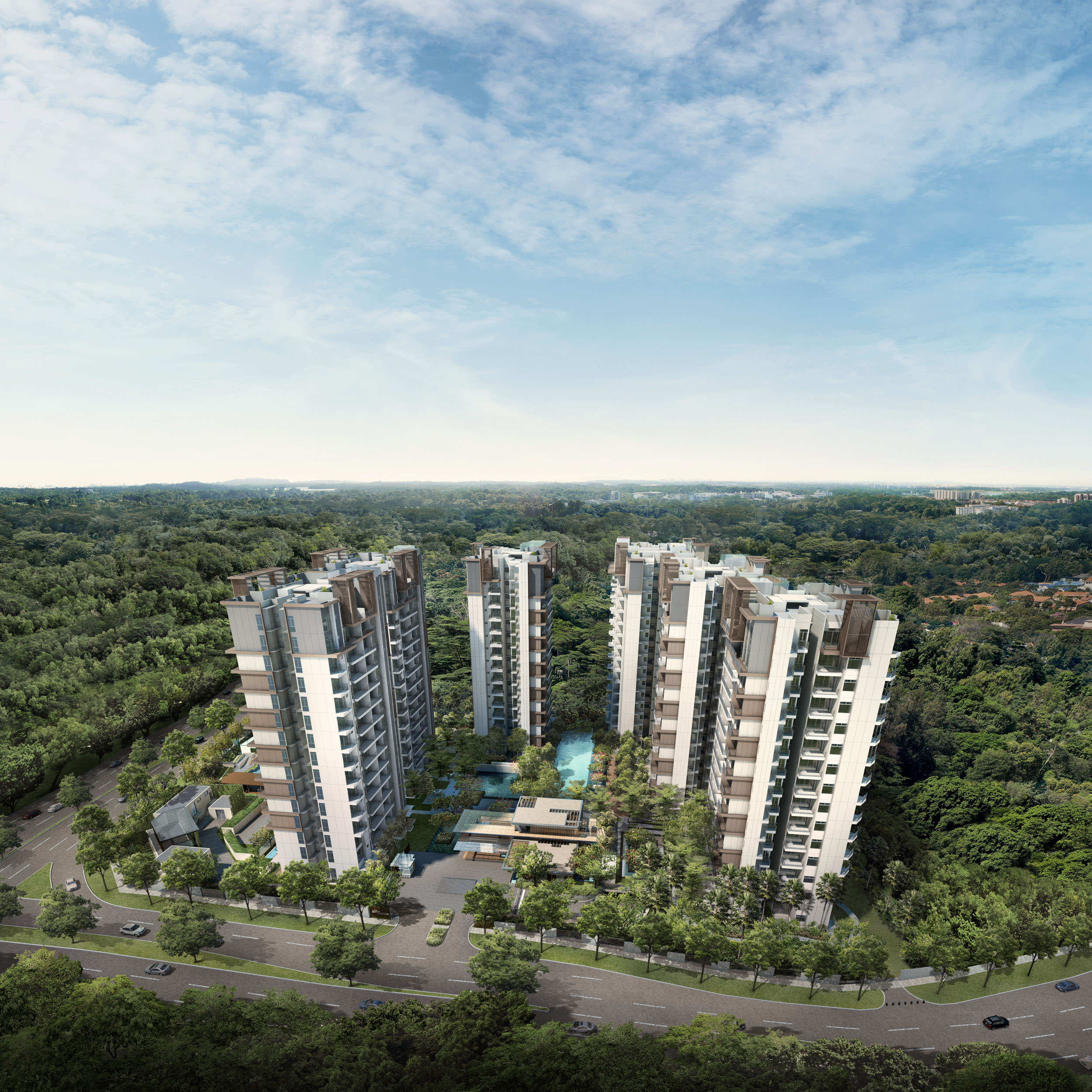 The Skywoods condo at hillview